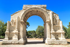 Roman City of Glanum, Triumphal Arch, Saint-Remy-de-Provence, Fr Stock Photography