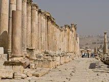 Roman city in Jerash Royalty Free Stock Photos