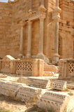 Roman city of Leptis Magna, Libya Royalty Free Stock Images