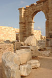 Roman city of Leptis Magna, Libya Stock Images
