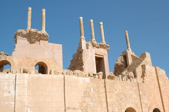 Roman city of Leptis Magna, Libya Royalty Free Stock Image