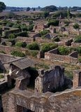 Roman city, Ostia Antica, Italy. Royalty Free Stock Images