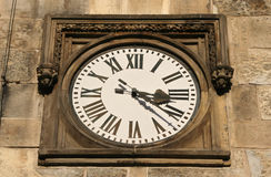 Roman Clock Royalty Free Stock Image