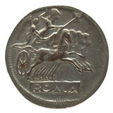Roman coin Royalty Free Stock Image