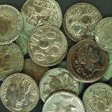 Roman coin Stock Photography