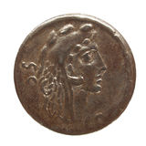 Roman coin Royalty Free Stock Photo