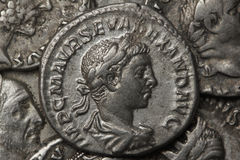 Roman coin Royalty Free Stock Photos