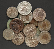 Roman coins Royalty Free Stock Photography