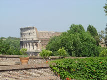 Roman coliseum. View from the Palatino Stock Photography