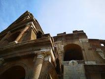 Roman coliseum stock foto's