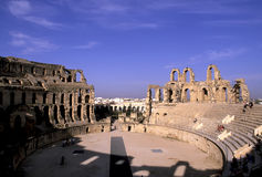 Roman coliseum Royalty Free Stock Images