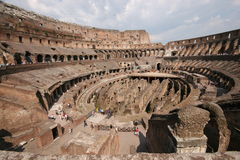 Roman coliseum. The Roman coliseum in Italy Stock Photo