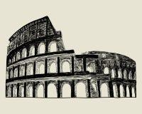 Roman coliseum. vector illustratie
