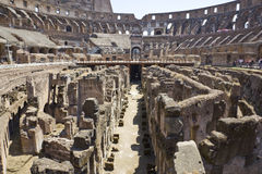 Roman coliseum Stock Images