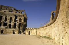 Roman Coliseum- El Djem, Tunisia Royalty Free Stock Image