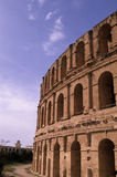 Roman Coliseum- El Djem, Tunisia stock photo
