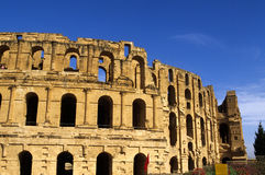 Roman Coliseum- El Djem, Tunisia Royalty Free Stock Photo