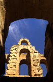 Roman Coliseum- El Djem, Tunisia royalty free stock photos