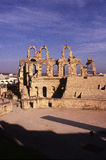 Roman Coliseum- El Djem, Tunisia Stock Images