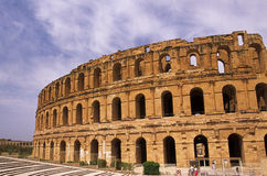 Roman Coliseum- El Djem, Tunisia Royalty Free Stock Photos