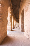 Roman Coliseum en Tunisie Photo stock
