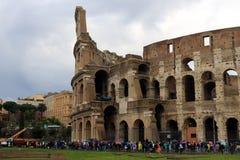 Roman Coliseum impresionante foto de archivo libre de regalías