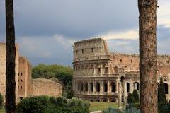 Roman Coliseum impresionante foto de archivo