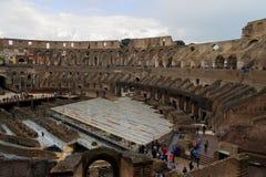 Roman Coliseum impressionante immagini stock
