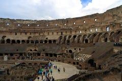 Roman Coliseum impressionante immagini stock libere da diritti
