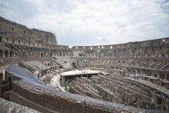 Roman Coliseum Inside Stockfotos