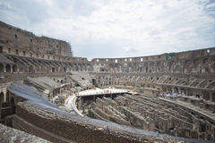 Roman Coliseum Inside Stock Photos