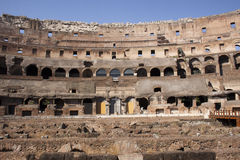 The Roman Coliseum Stock Image