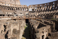 The Roman Coliseum Stock Photo