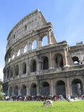 The roman colloseum. Former gladiator arena Royalty Free Stock Photo