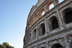 Roman Colloseum. The ancient Roman Colloseum - Rome, Italy Stock Image