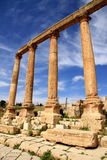 Roman Colonnade, Jerash Stock Images