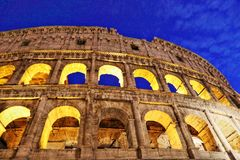 roman colosseum royaltyfria foton