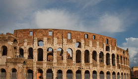 Roman Colosseum Stock Photo
