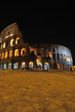 Roman Colosseum. View of the Roman Colosseum at night Royalty Free Stock Photography