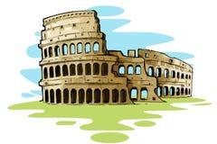 Roman Colosseum vector illustratie