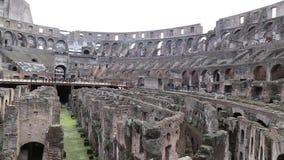 Roman colosseum stock videobeelden