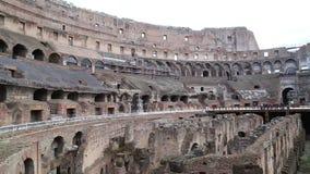Roman colosseum stock video