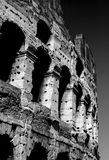 Roman Colosseum Black e bianco Fotografia Stock