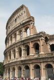Roman Colosseum Coliseum av Rome Italien Fotografering för Bildbyråer