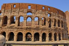 Roman Colosseum Coliseum Colosseo Immagine Stock