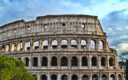 Roman colosseum in HDR stock images