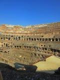 Roman Colosseum inre Royaltyfri Foto