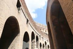Roman Colosseum interior, Rome Stock Images
