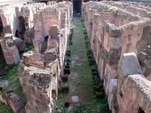 Roman Colosseum Italy Europe-Amphitheater seit Roman Empire Lizenzfreies Stockfoto