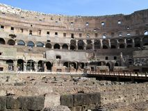 Roman Colosseum Italy Europe-Amphitheater seit Roman Empiren Lizenzfreies Stockbild